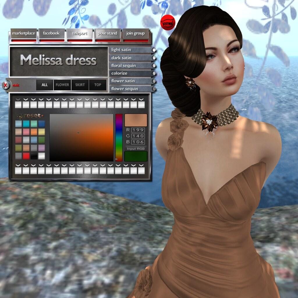 Melissa hud, colorize option, appear