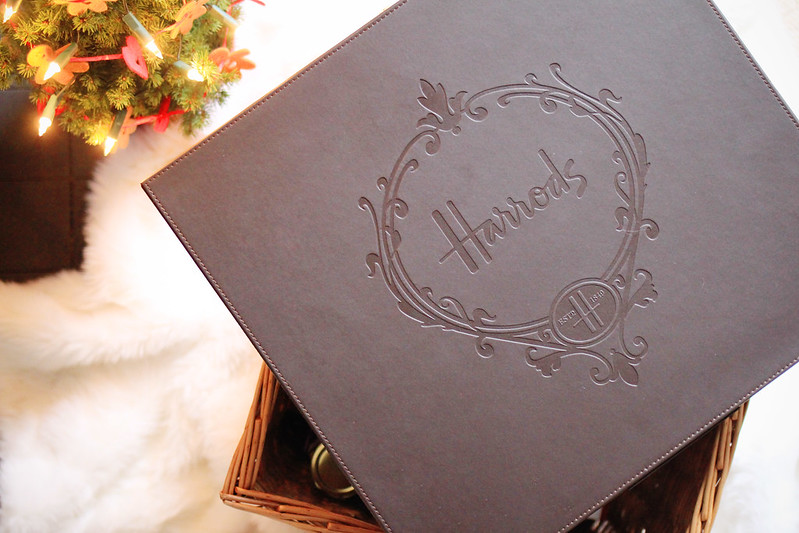 harrods food and wine christmas hamper