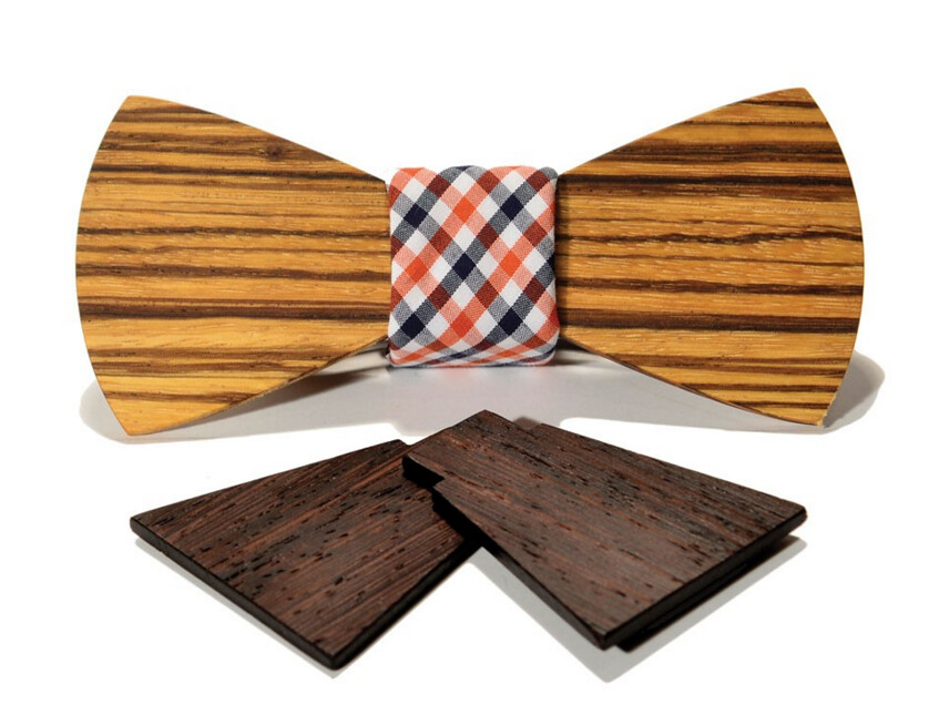 SFMoMA Interchangeable Wooden Bow Tie