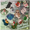~silentsparrow~ Felt Bird Ornaments - NEW @ Tannenbaum