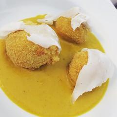 #visioni #food #cibo #polpette #ribollita #lardo #zucca #castagne