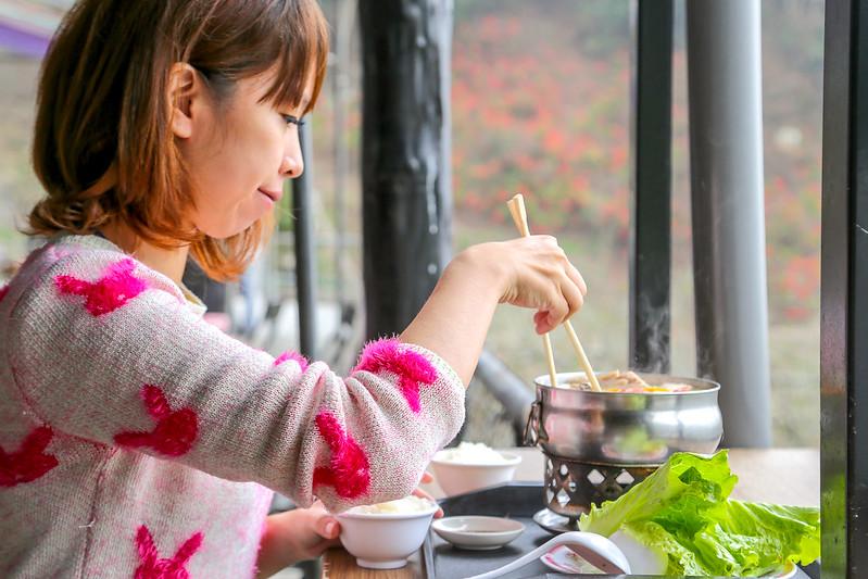 南投風櫃斗柳家梅園 梅子雞火鍋
