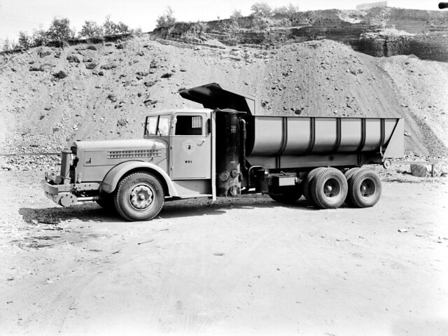 Самосвал Scania-Vabis 33519. 1941 год