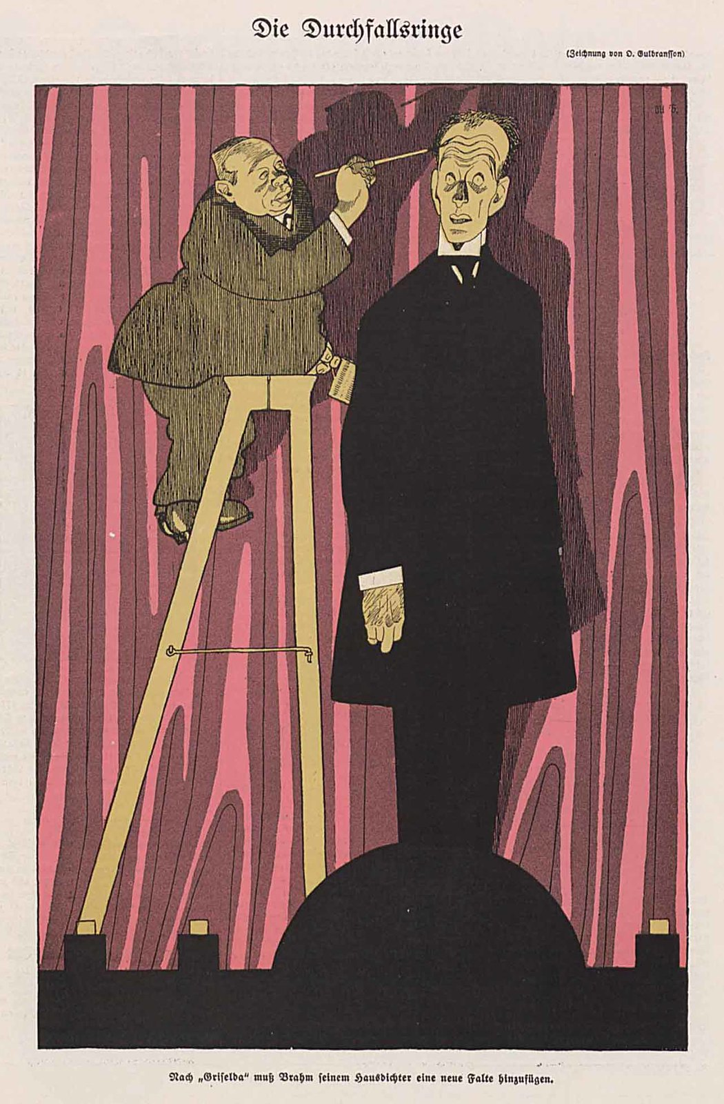 Olaf Gulbransson - Die Durchfallsringe, 1909