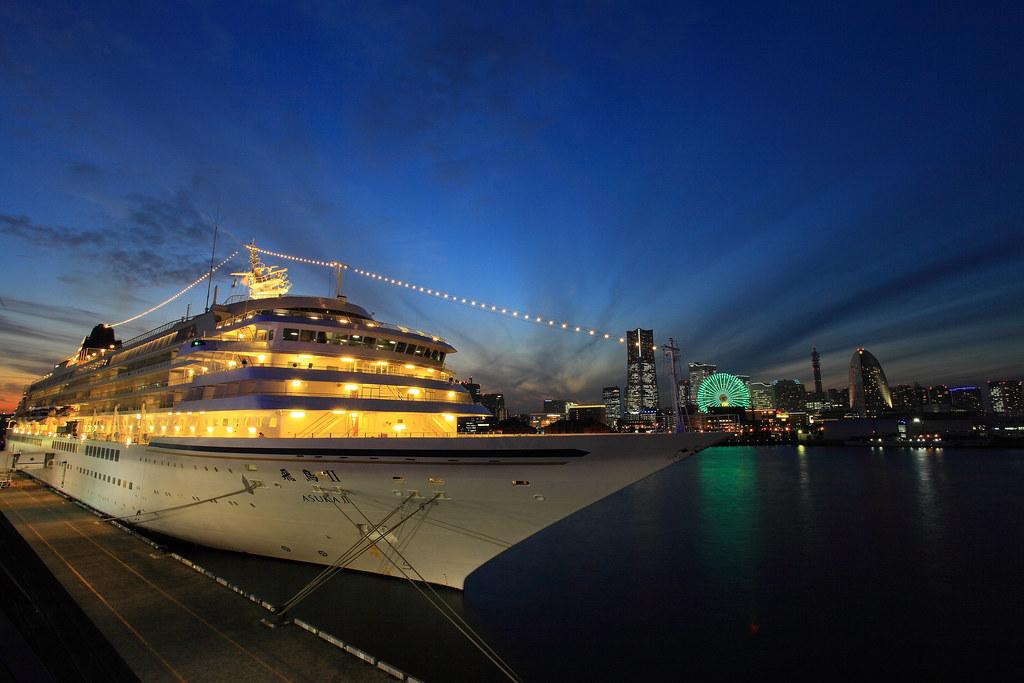 Asuka II Yokohama Cruise