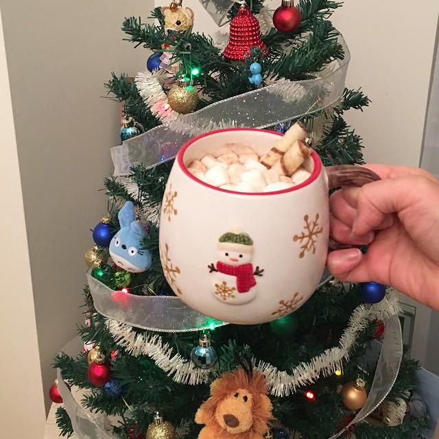 Hot cocoa & Snowman mug from Harry & David last year