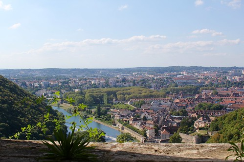 besançon frankrijk france citadel citadelle uitzicht view doubs