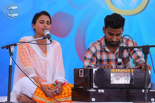 Devotional song by Anmol from Panchkula