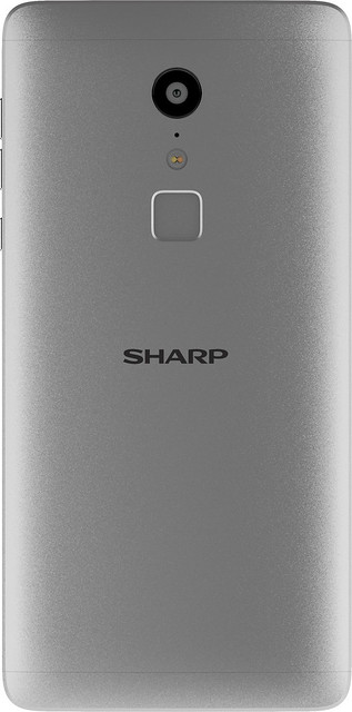 Sharp Z2 - Silver - Back