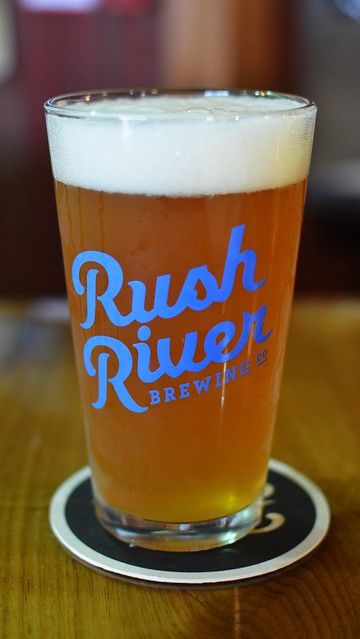 Rush River Brewing Wet Hop Minion IPA