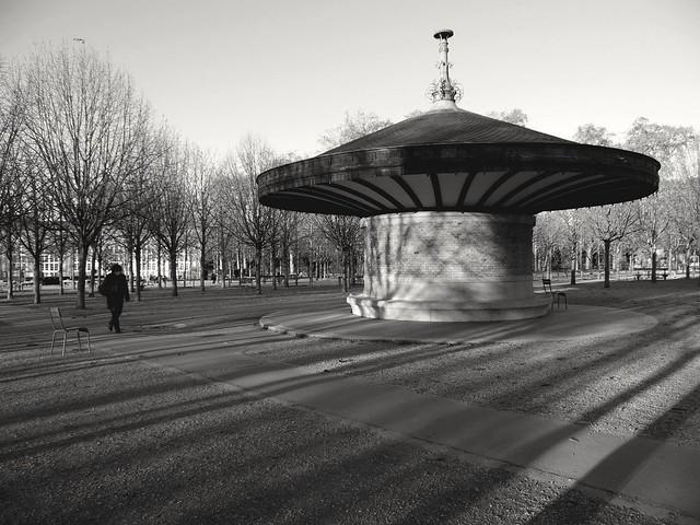 Une froide mais belle journée à Paris... A fine and cold day in Paris