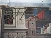 Histoire de Saint Christophe, 1448, Niccolo Pizzolo, chapelle Ovetari, église des Erémitiques, 1276, piazza Eremitani, Padoue, Vénétie, Italie.