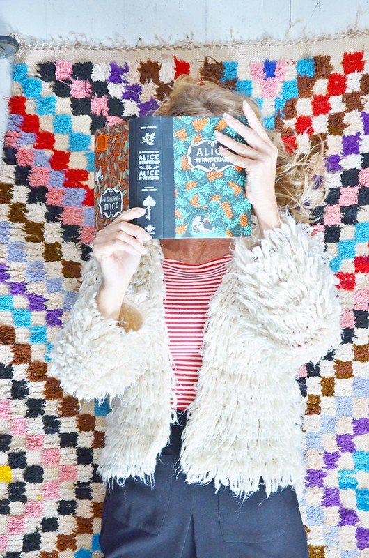 woodwoolstool wooly cardigan