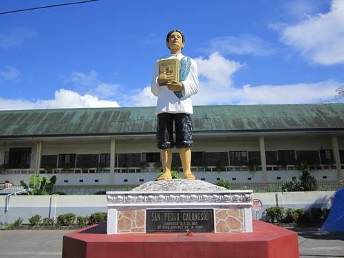 polangui albay bicol luzon saint pedro calungsod statue philippines asia world