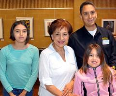 L-R: JoanRamirez, Grandma Maria Sierra, Ruby Ramirez and Steve Ramirez.