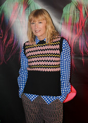 "Cindy Sherman at the ""Charliewood"" premier party @ Cedar Lake"