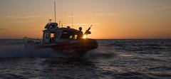 Vessel maneuver training near Santa Barbara, California