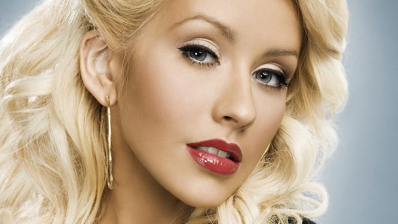 The new face of Christina Aguilera