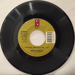 PATTI LABELLE:IF YOU DON'T KNOW ME BY NOW(RECORD SIDE-B)