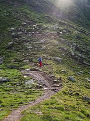 Op weg naar de Zsigmondy Spitze