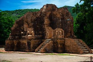 Image of Mỹ Sơn Ruins near Huyện Duy Xuyên. vietnam vn quảngnam septembervacation2015 mysonhollyland