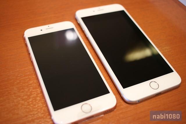 iPhone 6sローズゴールド11