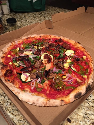 A lovely Whole Foods Pizza all for us
