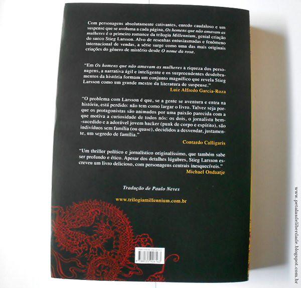 Resenha, livro, Os homens que não amavam as mulheres, Stieg Larsson, Companhia das Letras, editora, trilogia, Millennium, Lisbeth, capa nova
