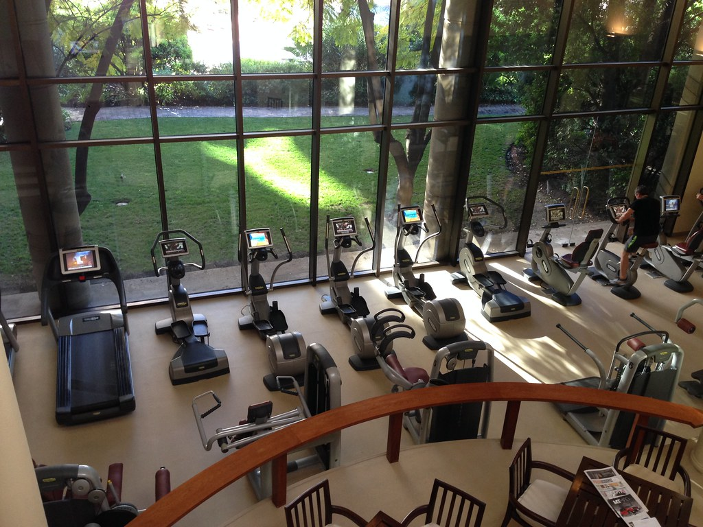 Fitness centre equipments