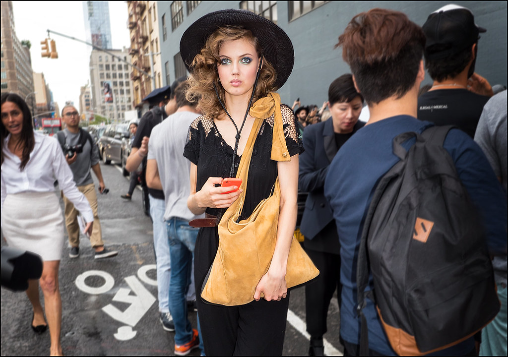 Lindsey Wixson after the DVF Show NYFW 9-2015