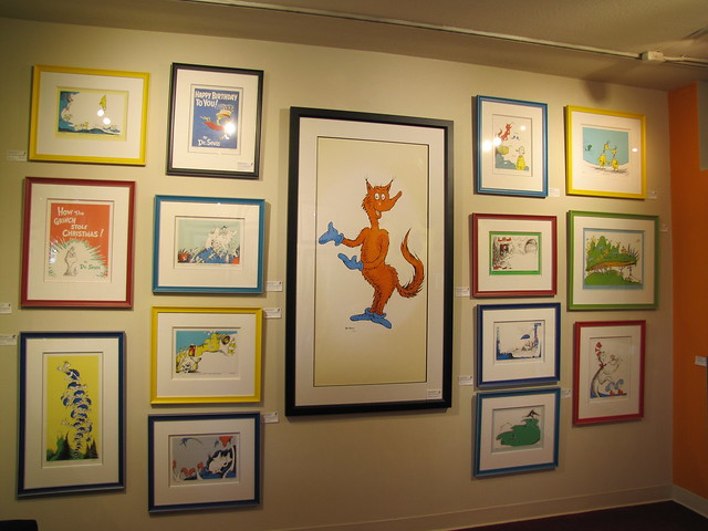 Dr. Seuss Gallery in Carmel-by-the-Sea