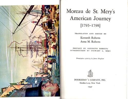 moreau book title page
