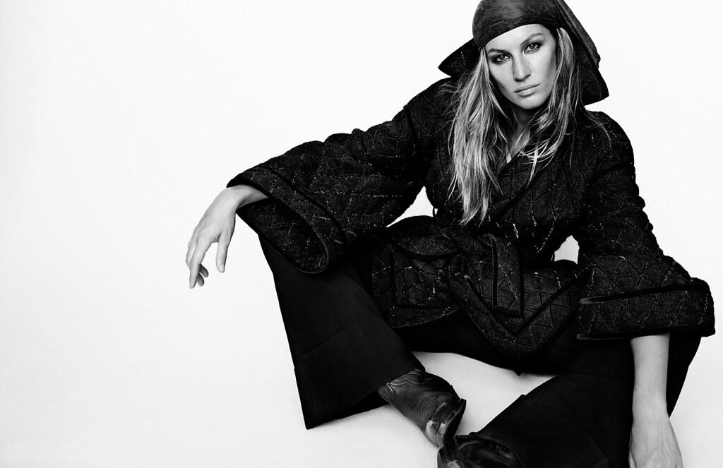 Жизель Бюндхен — Фотосессия для «Vogue» FR 2015 – 1