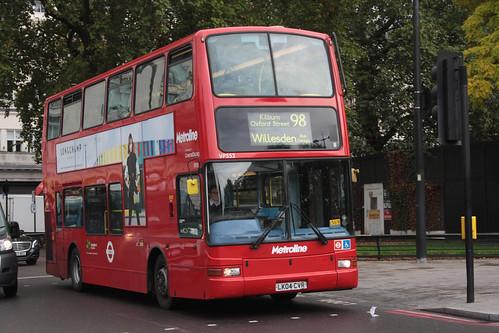 Metroline VP553 LK04CVR7