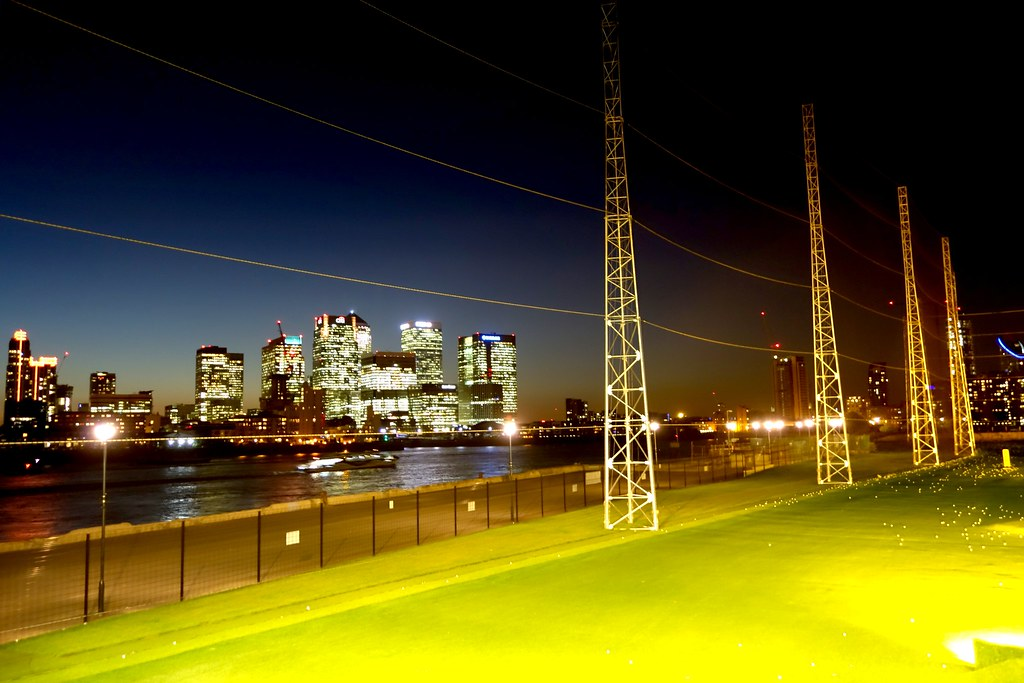 #GolfWithMonarch, N1 Golf and Vinothec Compass, North Greenwich, Compas