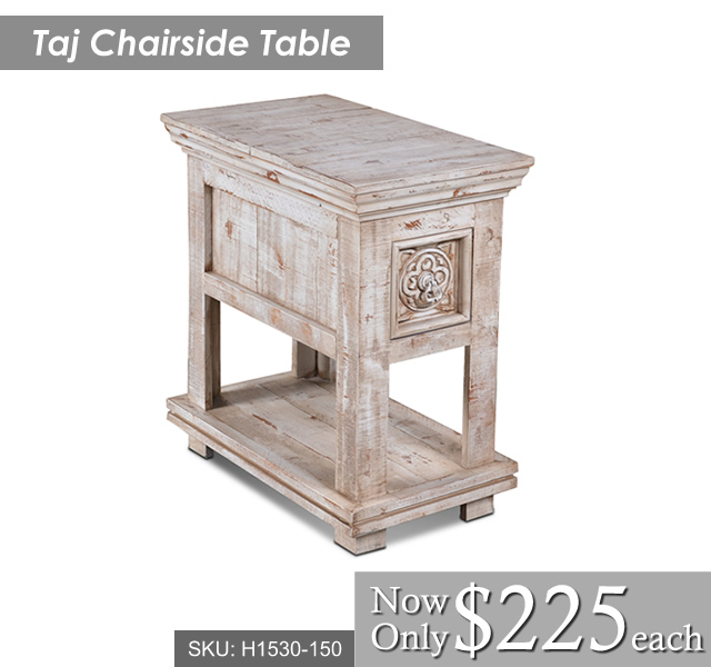 Taj Chairside Table