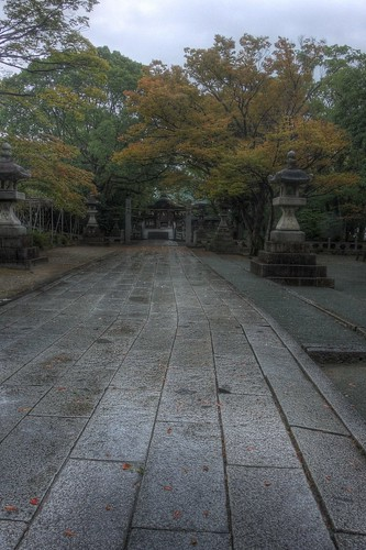Suitengu Shrine at Kurume, Fukuoka pref. on OCT 27, 2015 (2)
