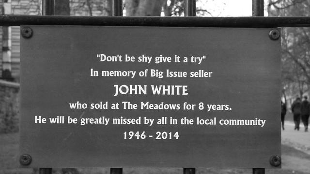in memory of John White