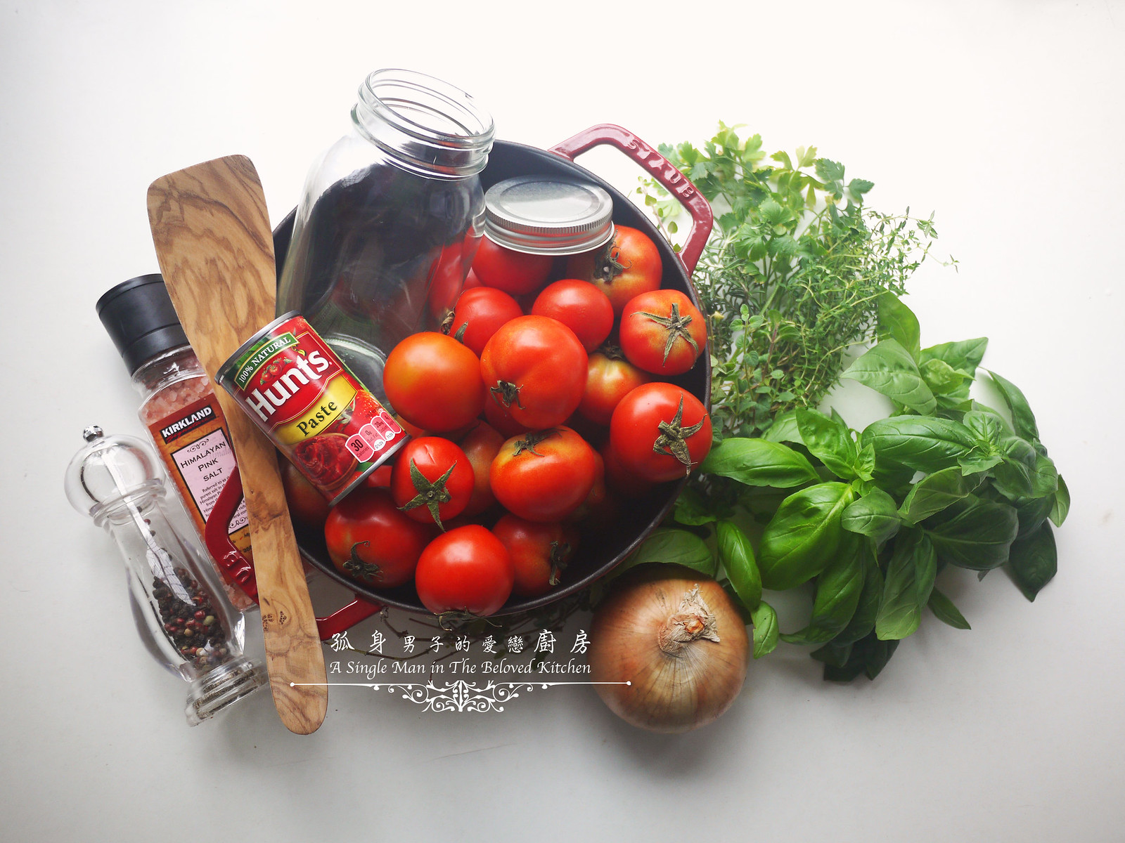 孤身廚房-義大利茄汁紅醬罐頭--自己的紅醬罐頭自己做。不求人1