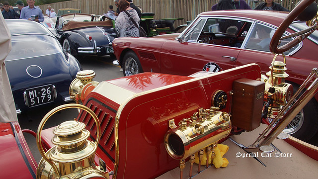 The start of the Pebble Beach Tour d'Elegance 2015
