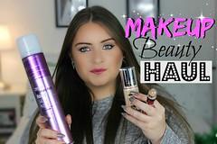 Makeup Beauty Haul November 2015 thumbnail