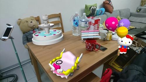 Sony 有趣 AR 實境相機!還有限時免費 Hello Kitty 特效 AR 下載 @3C 達人廖阿輝