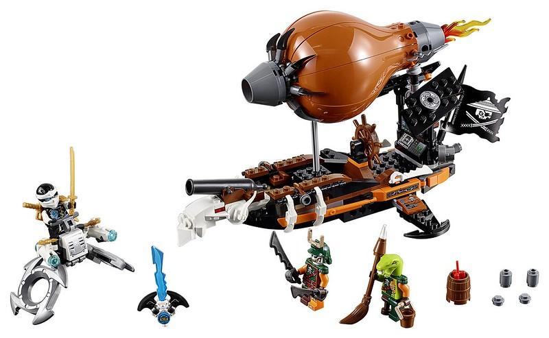 LEGO Ninjago 2016 | 70603 - Raid Zeppelin