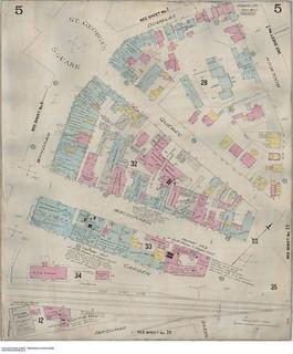 Insurance plan, sheet 5, Guelph, Ontario, February 1897, revised November 1911 / Plan d'assurance-incendie, feuille 5, Guelph (Ontario), février 1897, révisé en novembre 1911