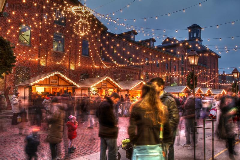 Christmas market in Toronto, Canada. Credit Allen McGregor