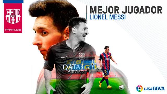 Premios La Liga: Lionel Messi - Mejor Jugador