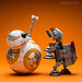 BB-8 and AT-AT: Here, boy! by Randy Santa-Ana