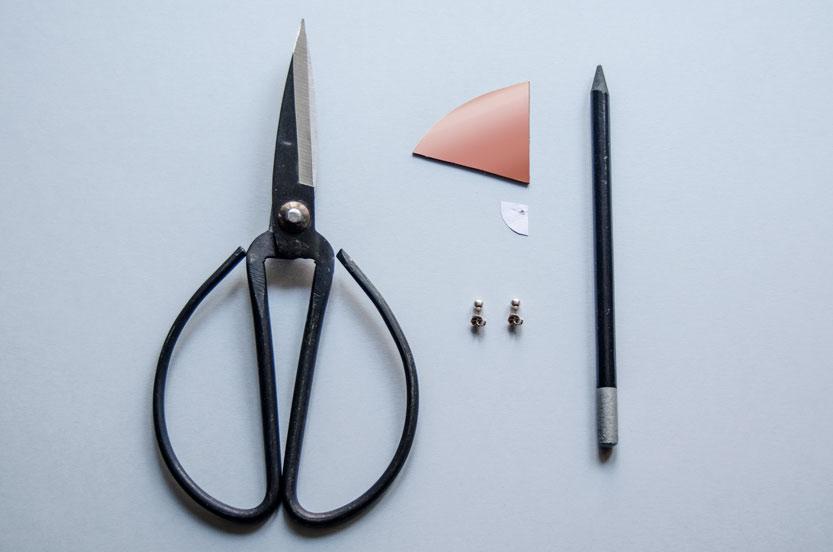 diy-pendientes-minimalistas-materiales