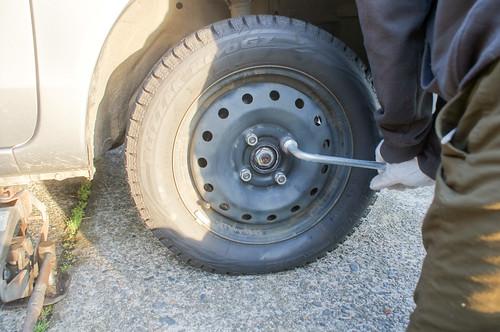 HowTo - タイヤ交換