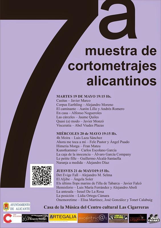 """Naranja a medida"" en la 7ª muestra de cortometrajes alicantinos"